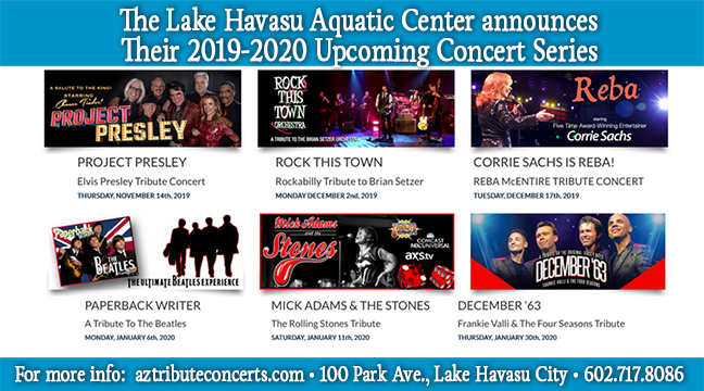 The Lake Havasu Aquatic Center Concert Series