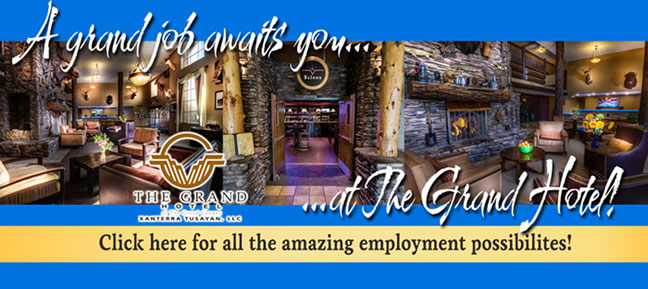 Employment Possibilities at The Grand Hotel