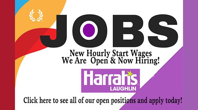 Jobs: Harrah's Laughlin