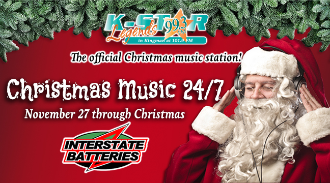 K-Star playing Christmas Music 24/7