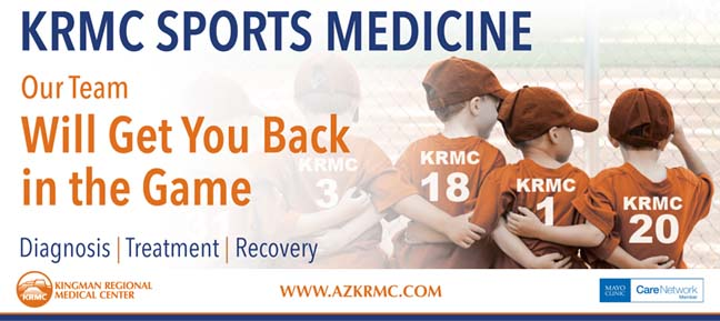 Sports Medicine @KRMC Kingman Regional Medical Center